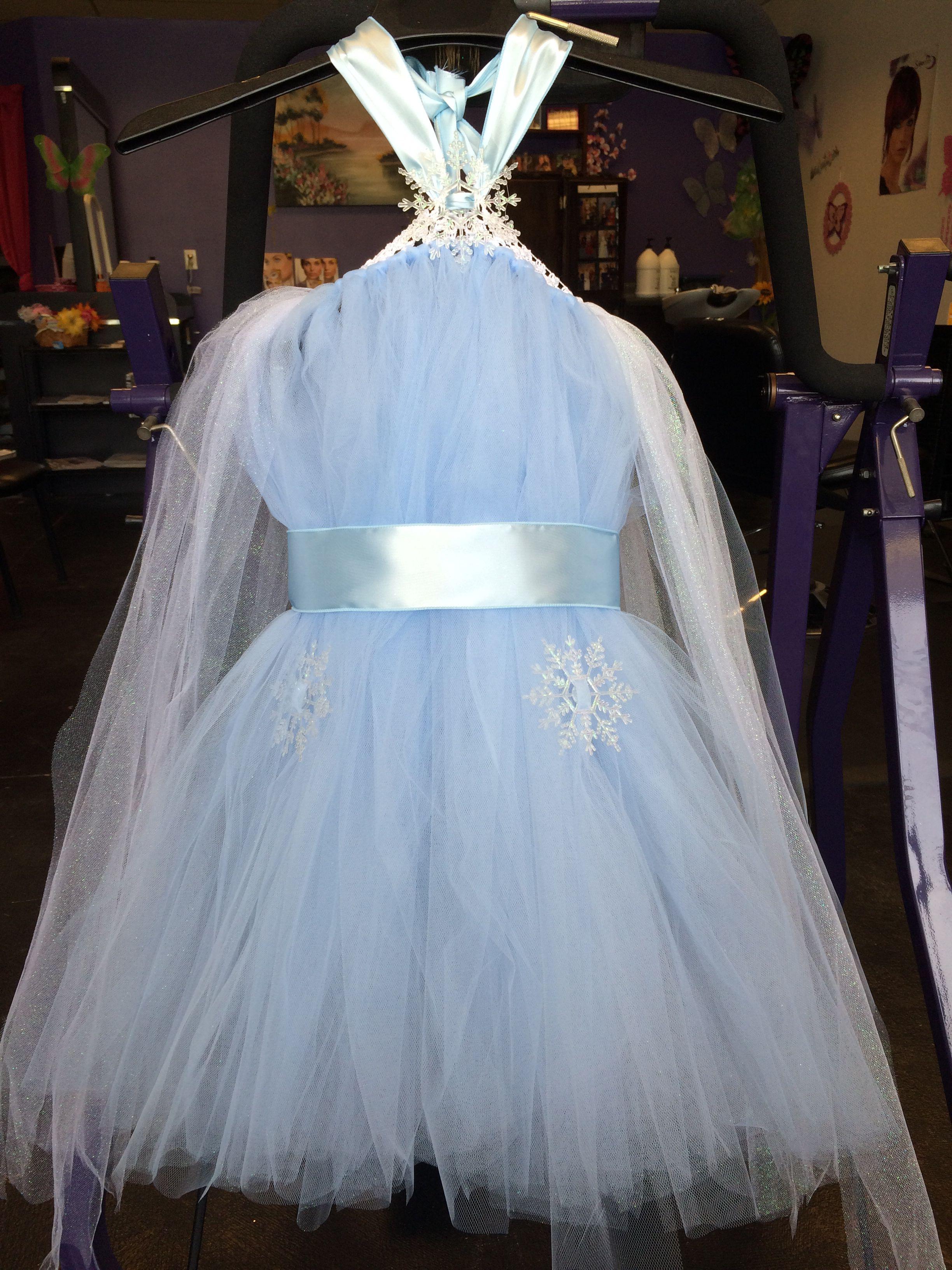 Frozen inspired tutu dress