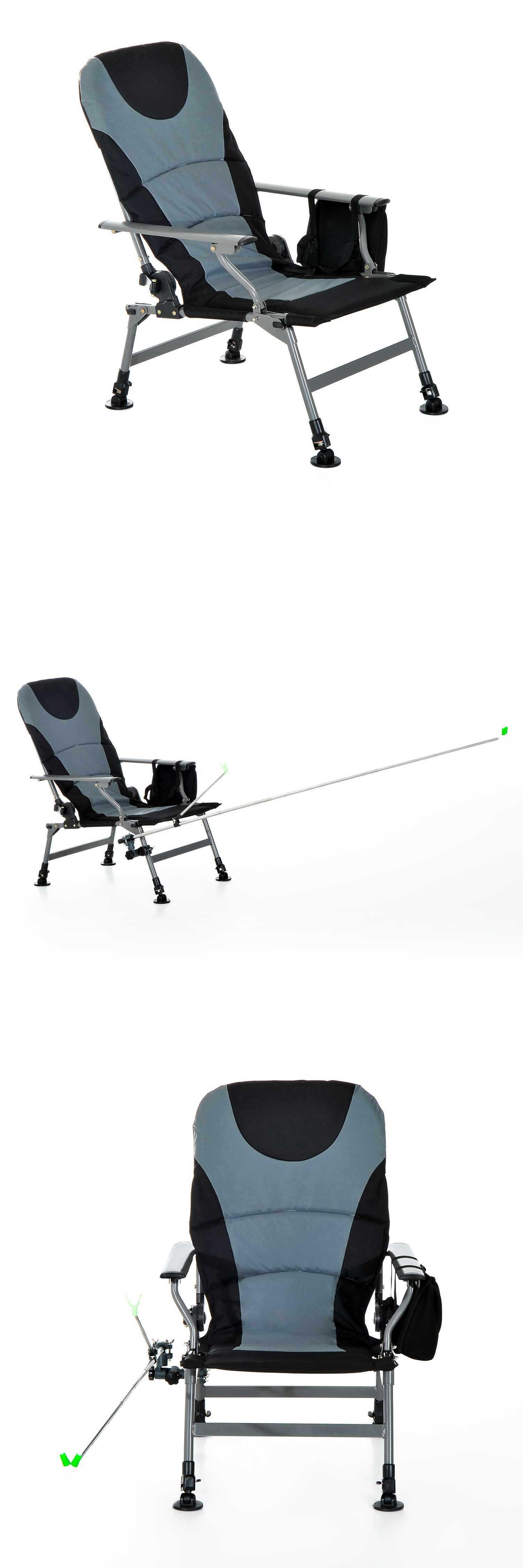 Chairs and Seats Outsunny Fishing Chair Hiking Camping