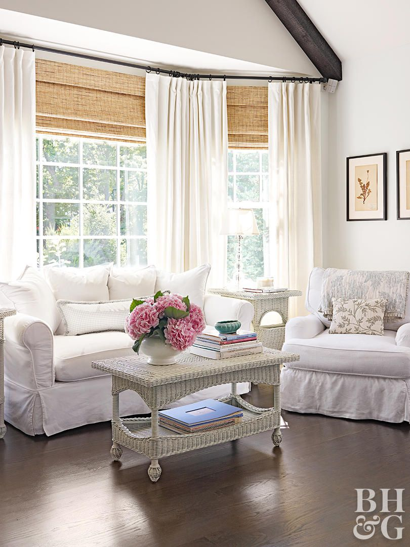 14 Beautiful Bay Window Treatment Ideas For Every Style Wi
