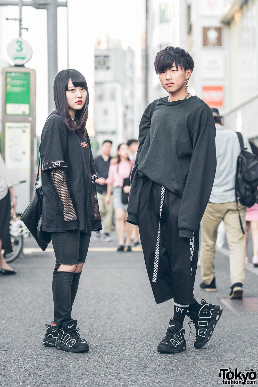 All Black Harajuku Streetwear w Never Mind the XU, From K