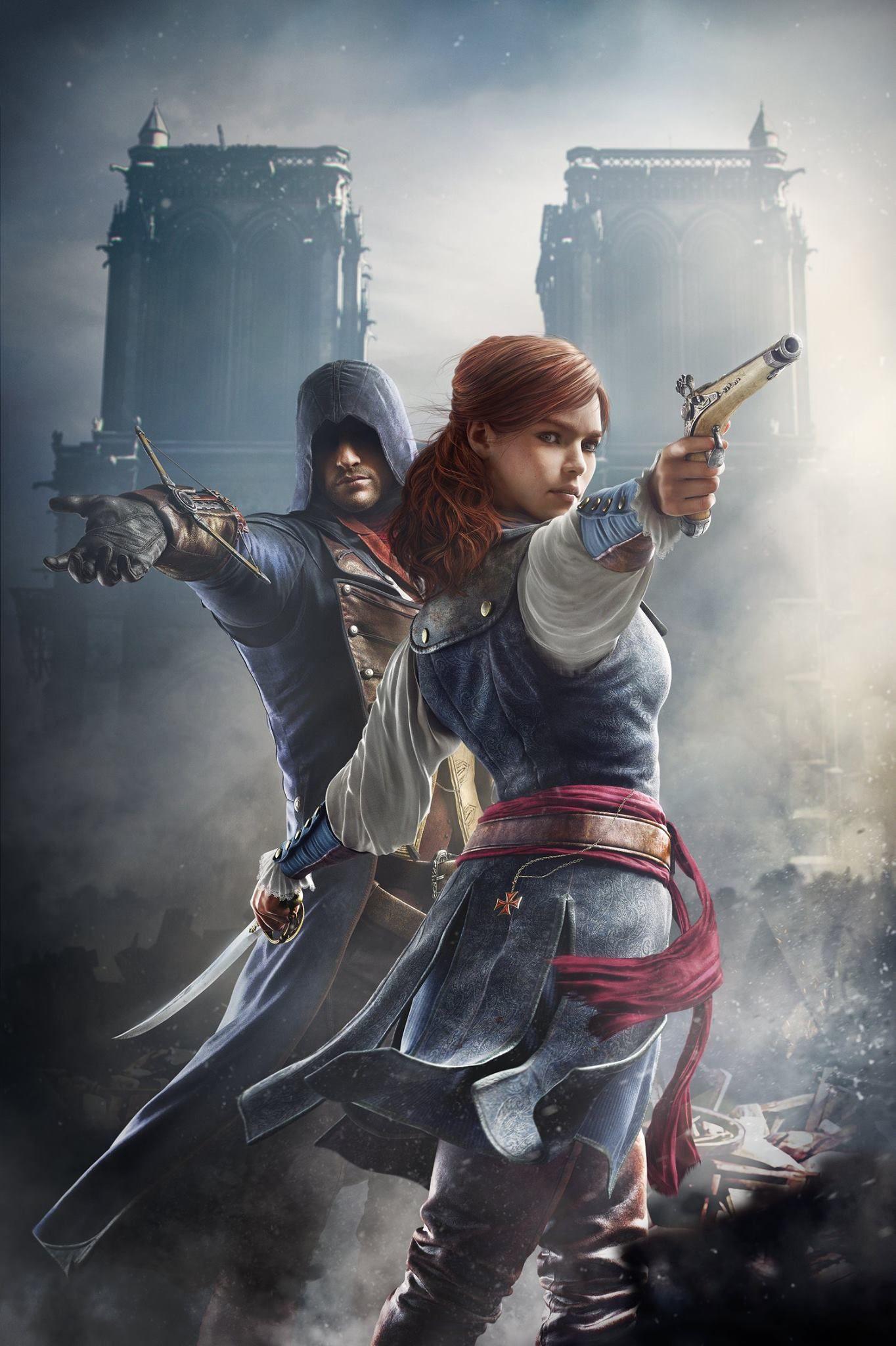 Arno Victor Dorian And Elise De La Serre Assassins Creed Unity Arno Assassin S Creed Assassins Creed
