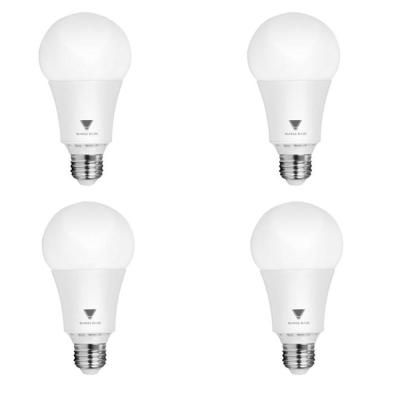 100 Watt Equivalent A21 Dimmable 1 600 Lumens Led Light Bulb Daylight 4 Pack Light Bulb Bulb Dimmable Led Lights
