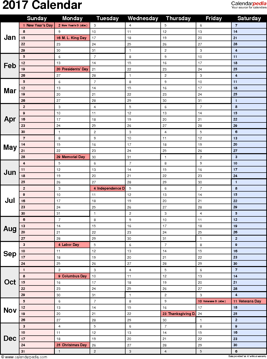 Calendar Excel Download : Calendar download free printable excel templates