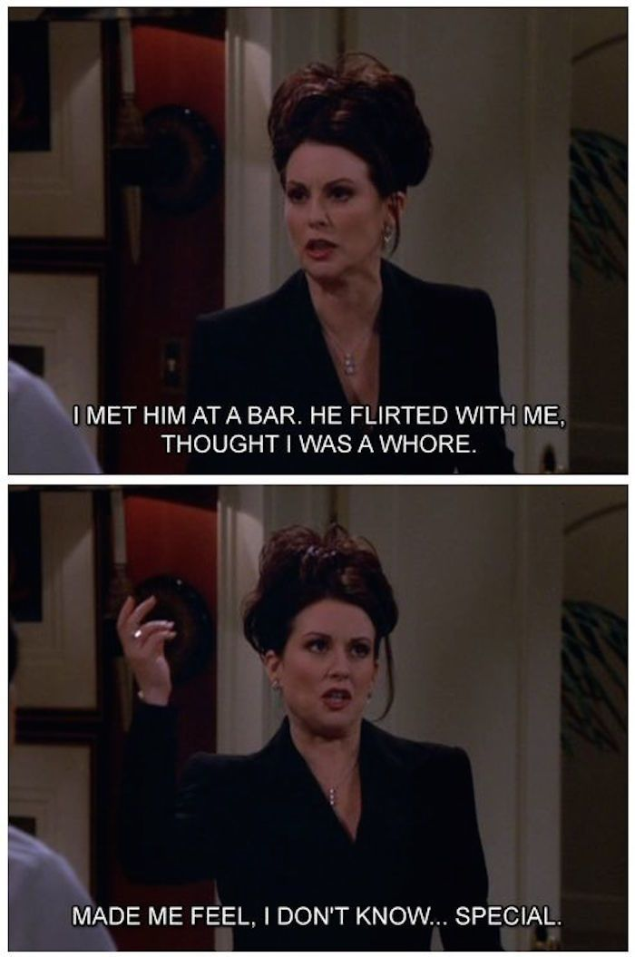 17 Karen Walker Will And Grace Moments So Funny You Ll Spit Out Your Vodka Karen Walker Quotes Will And Grace Karen Will And Grace