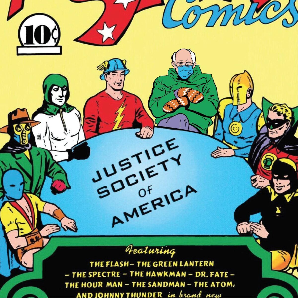 200 Of The Funniest Bernie Sanders Mitten Memes In 2021 Justice Society Of America Johnny Thunders Funny Memes