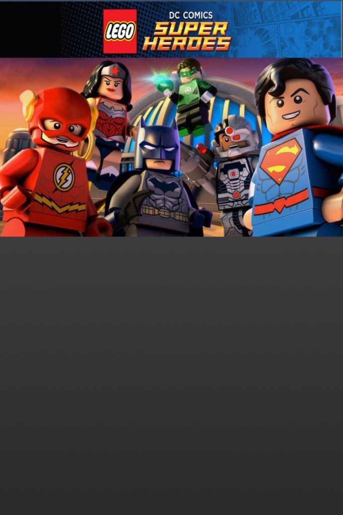 Lego DC Justice League Birthday Invitation Template Free