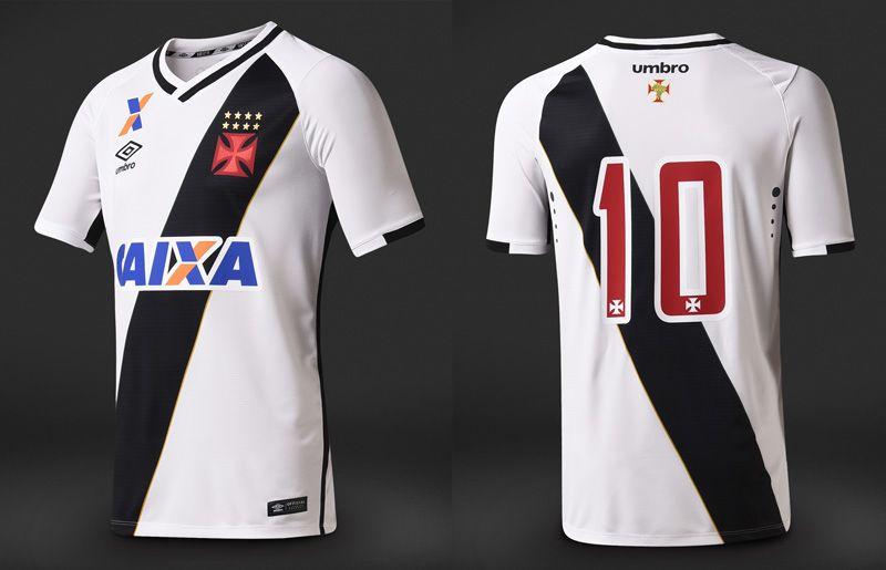 d685be1218e3f Camisas do Vasco da Gama 2016-2017 Umbro Branca