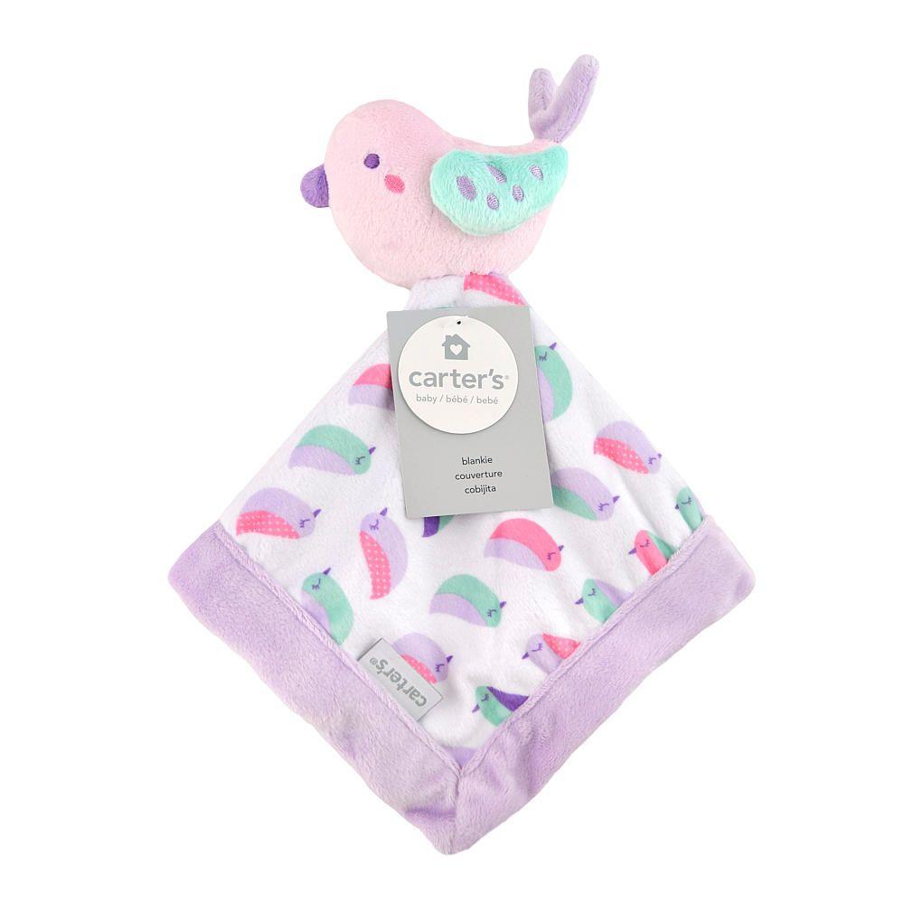 Carter's Pink Bird Security Blanket - Triboro Quilt Co. - Babies ... : triboro quilt - Adamdwight.com
