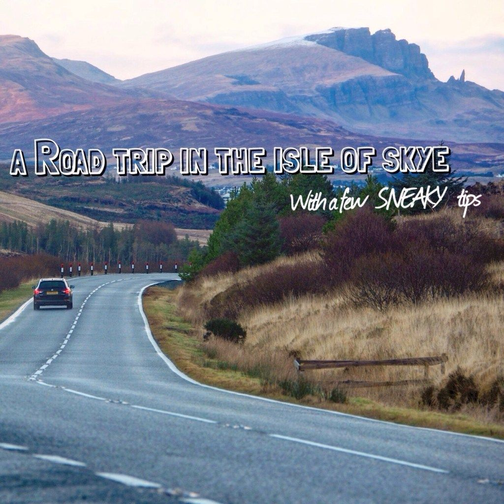 Ever wanted to road trip the Isle of Skye in Scotland? Here is everywhere you need to go!