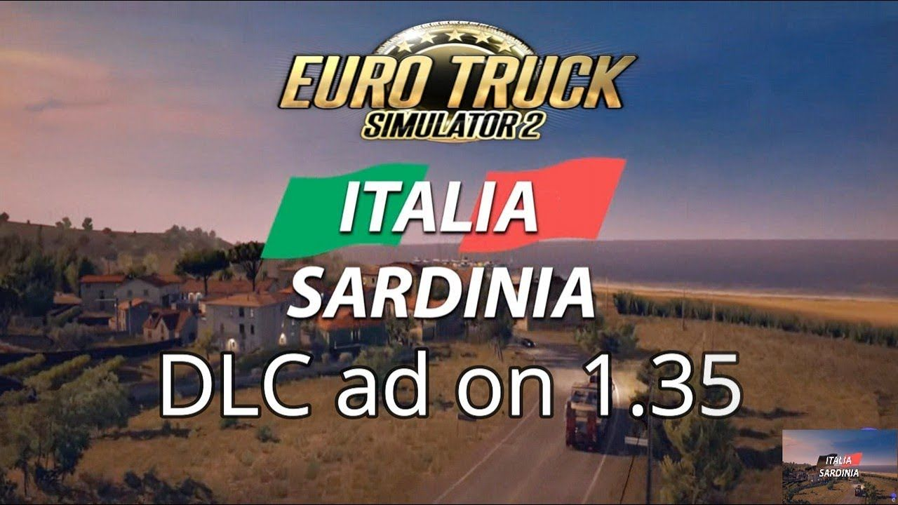 Sardinia Italia map extension dlc for euro truck simulator 2