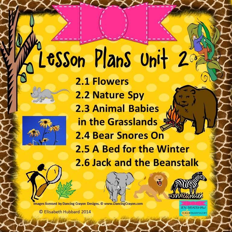 Reading Street Kindergarten 2013 Common Core Lesson Plans For Unit 2