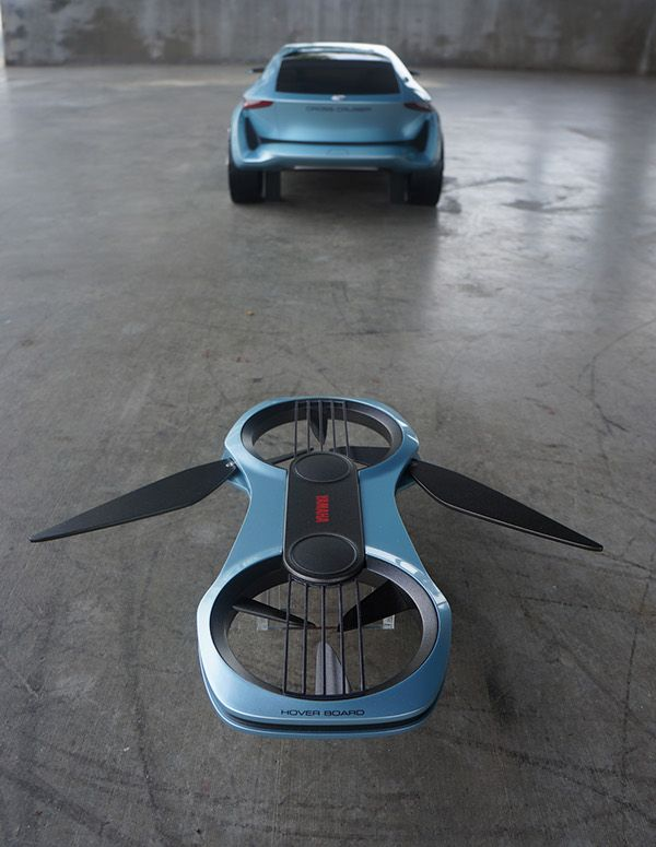 Toyota Cross Cruiser Yamaha Hover Board On Design Served