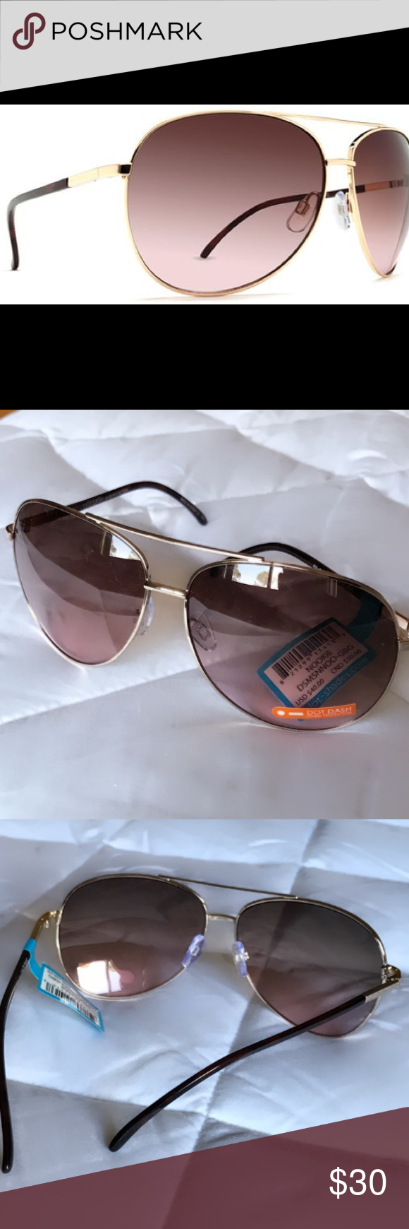 58bd6ba9f6 Dot Dash  Nookie  Sunglasses☀️NWT☀ Sexy