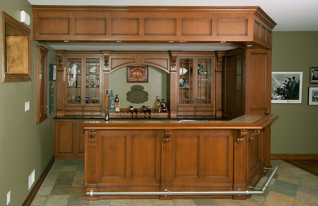 Built In Home Bars | Professional cabinet maker serving the ...
