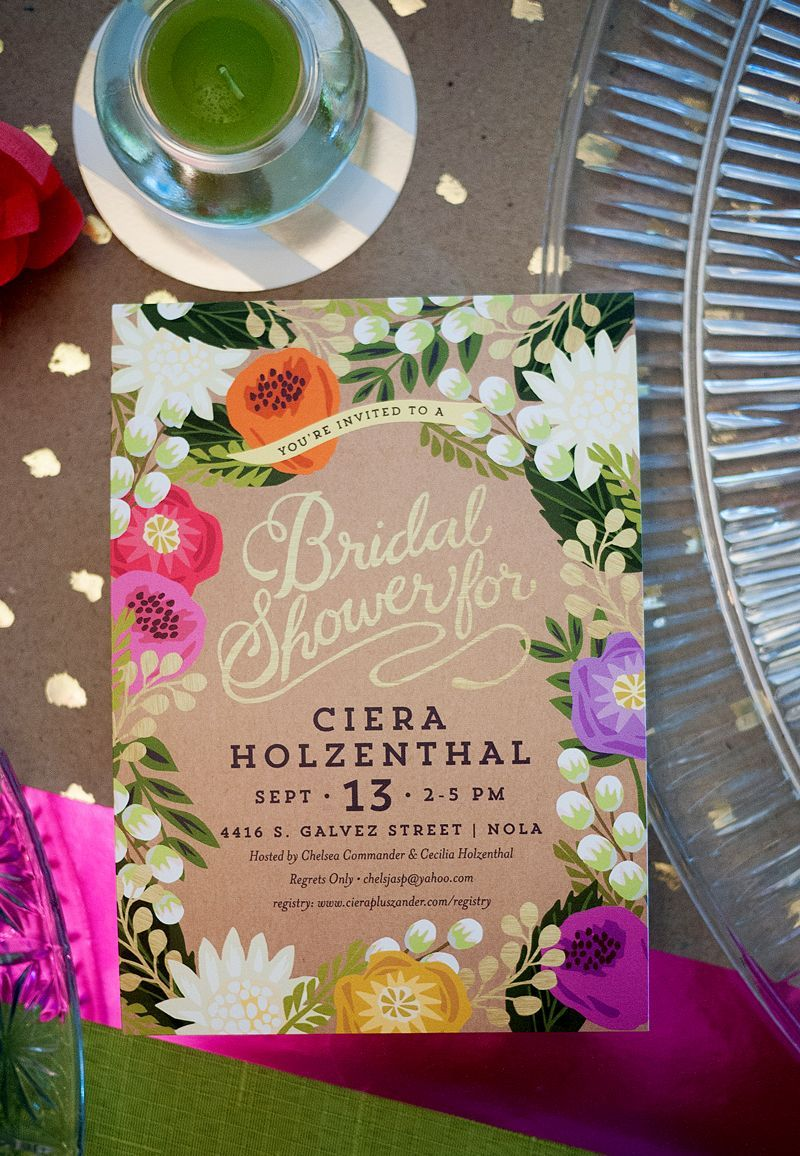 Cierau0027s Tropical Bridal Shower Tropical bridal