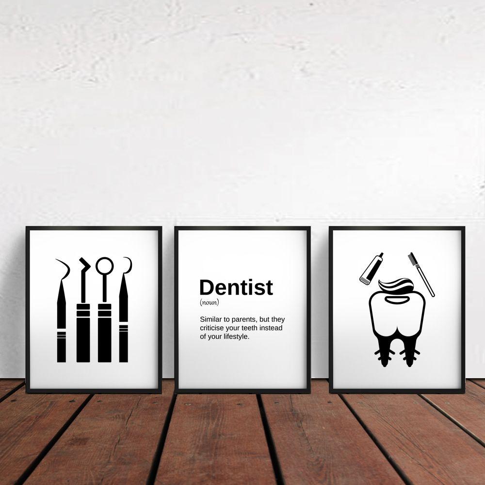 Dental Hygienist Gift Dentist Gifts Dental Art Dental Assistant Hygiene Gifts Dentist Offic Dental Office Decor Dental Office Dental Office Design Interiors