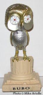 Ray Harryhausen's Clash of the Titans. Bubo the owl