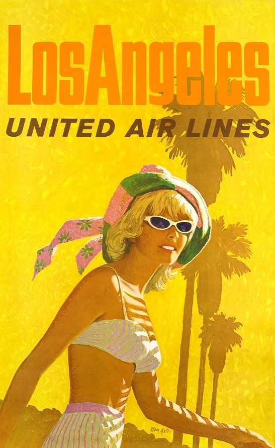 International Vintage Air Travel Posters 50s 60s Google Search Vintage Airline Posters Vintage Travel Posters United Air