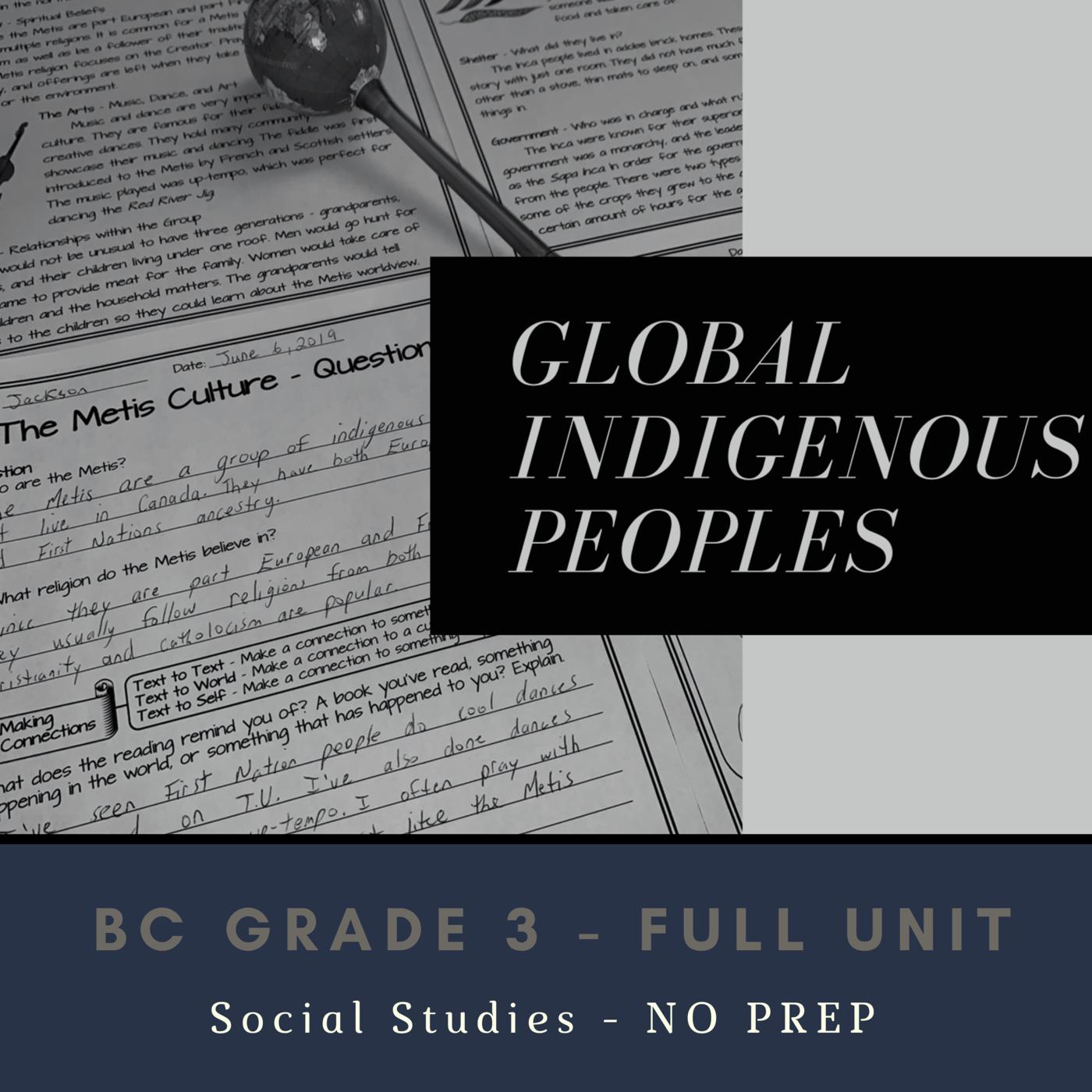 Global Indigenous Peoples