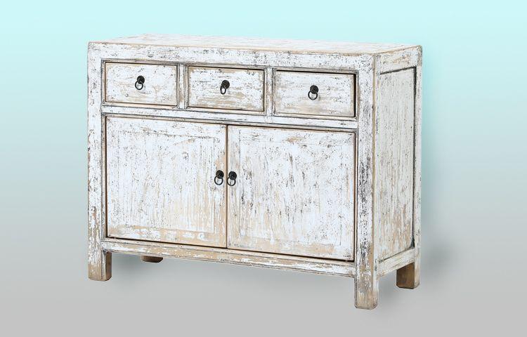 Mueble aparador cómoda blanco vintage. Muebles antiguos y vintage en ...