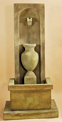 Amphorae Wall Fountain 1453 | Outdoor Wall Fountains | Pinterest ...