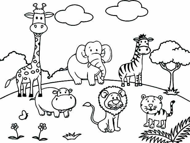 - Baby Zoo Animals Coloring Pages Luxury Coloring Zoo Animal Coloring Page  Wildlife Pages Anim… In 2020 Zoo Animal Coloring Pages, Zoo Coloring  Pages, Animal Coloring Books