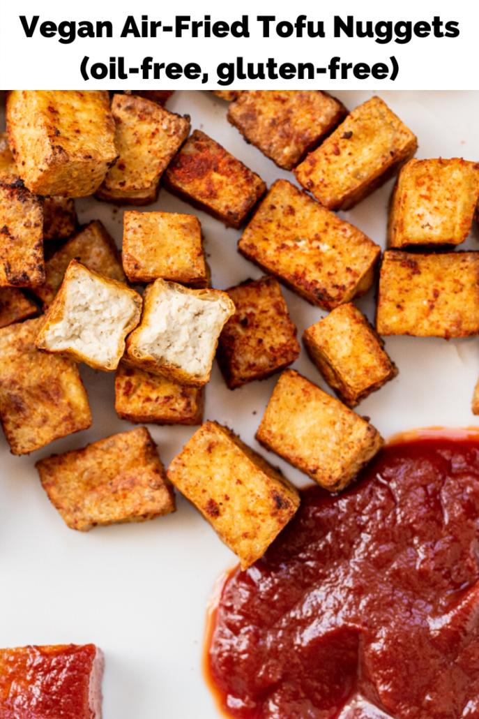 Vegan AirFried Tofu Nuggets (oilfree) Recipe Tofu