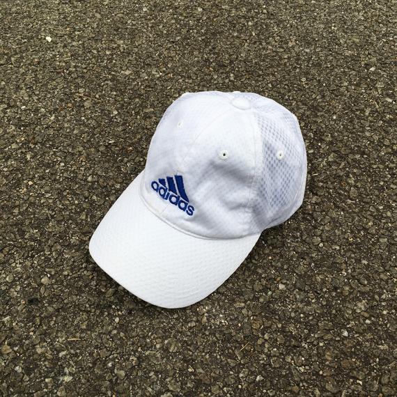 ADIDAS EQUIPMENT Trucker Cap Vintage 90 s Adidas Sportswear White Cap  Snapback Adidas Three Stripes ca90bdfcc680