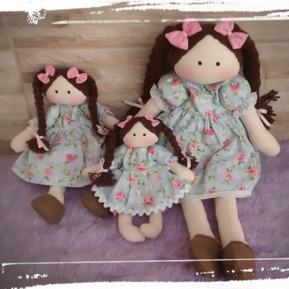 Coleção Ternurinha - Bonecas de Pano