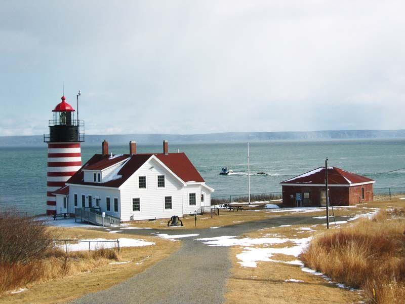 West Quaddy Head Light Maine