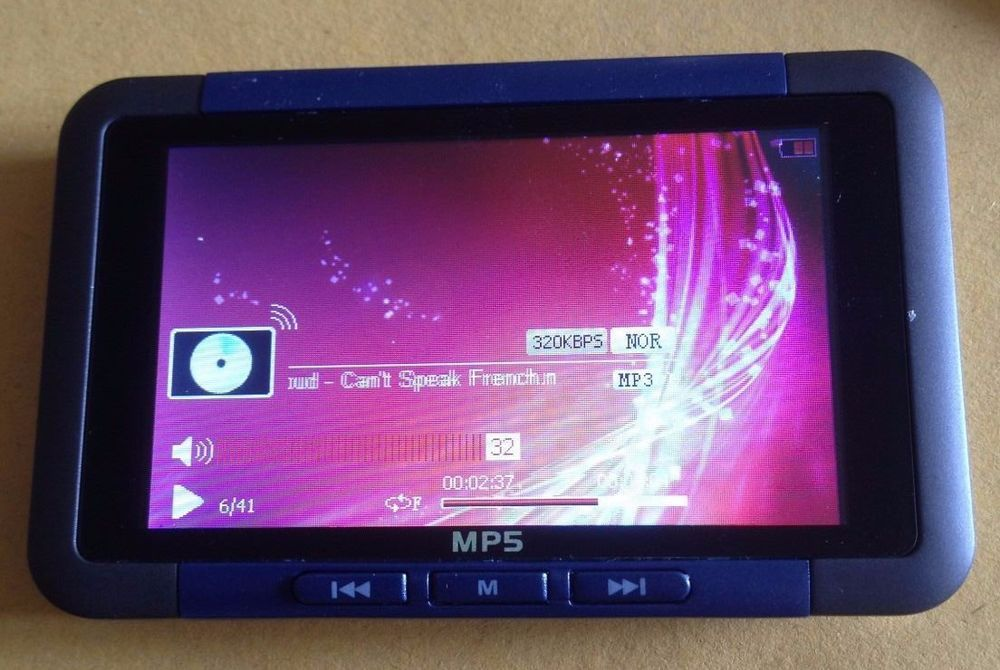 4gb 30 Lcd Mp3 Mp4 Mp5 Player Movies Fm Radio Games Boxed