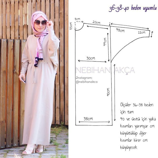 Ne Diktim: Pratik Maksi Salaş Elbise (Dikiş, Moda, Tasarım)