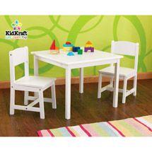 walmart kidkraft aspen table and chair set white 109 88