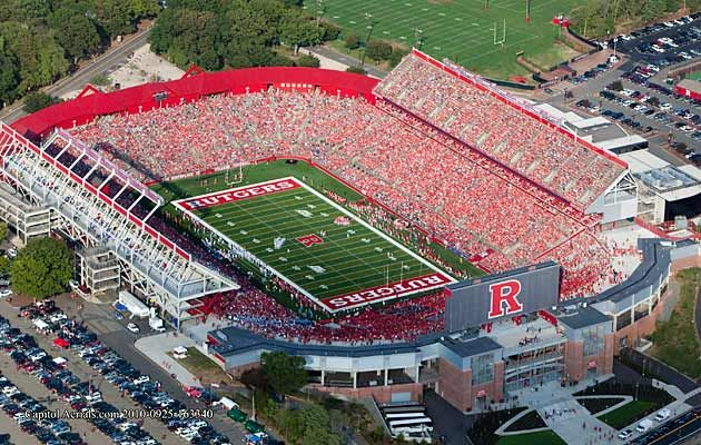The Official Site Of Rutgers Football Rutgers Football Football Stadiums Rutgers University