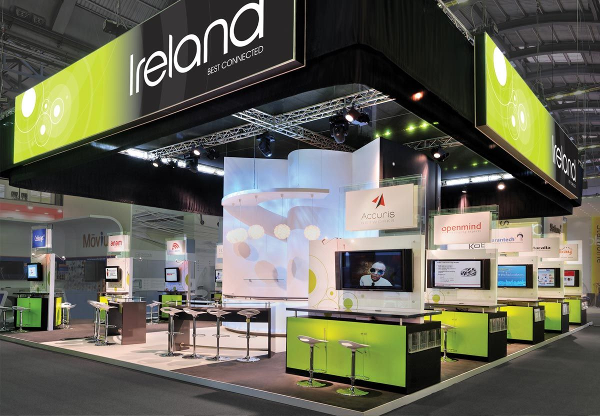 Exhibition Stand Design Northern Ireland : Enterprise ireland stand at mobile world congress