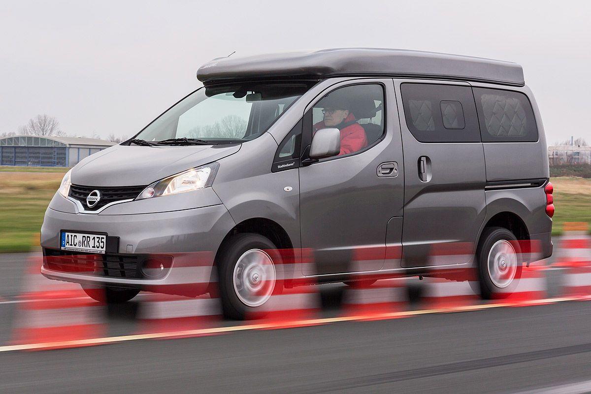 Nissan Nv200 Als Wohnmobil Test In 2020 Nissan Wohnmobil Auto Bild