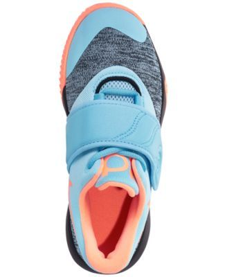 75cb2f29588a Nike Little Boys  Kd Trey 5 Vi Basketball Sneakers from Finish Line - Blue  2.5
