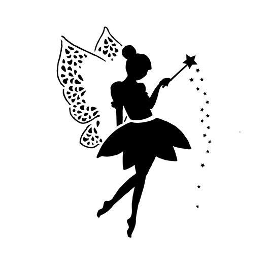 Pochoir Taille Xs Fée Leroy Merlin Fairy Wiedżmy