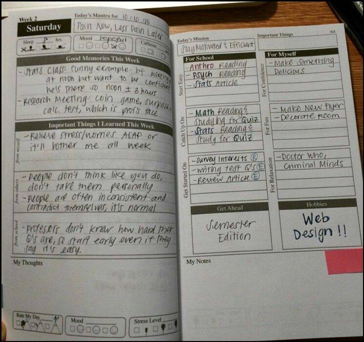 Uni planner Journal Inspiration Pinterest Journal inspiration