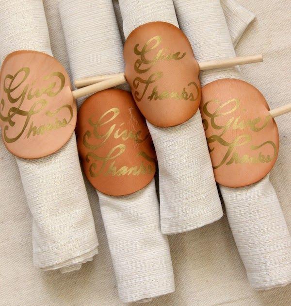 simple napkin ring #napkinrings