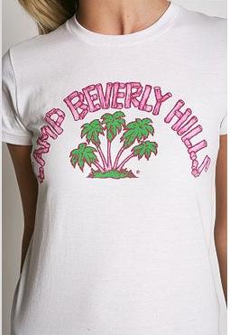 Camp Beverly Hills T-shirt #1980's