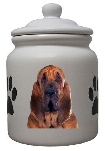 Bloodhound Ceramic Color Cookie Jar Dog Cookies Ceramics Dog Store