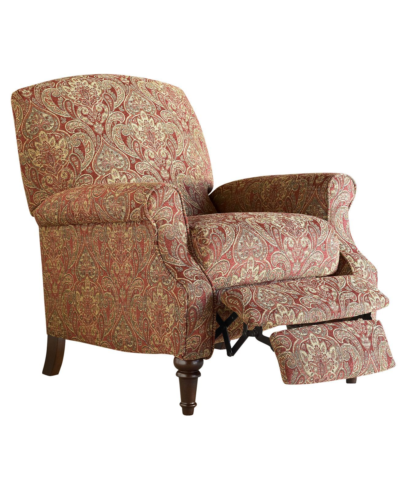Chloe Recliner Chair High Leg Country Style Chairs