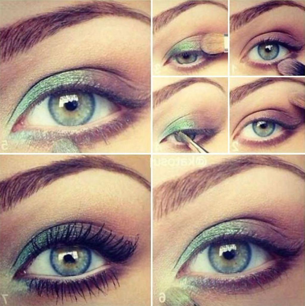 makeup ideas green - Google Search