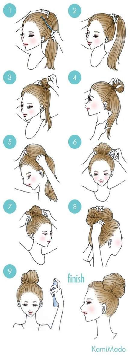 Super sport hairstyles bun 53 ideas #sport #hairstyles