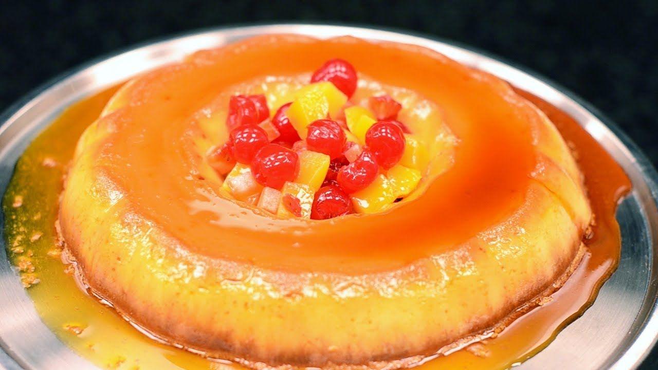 Cream Cheese Flan Doolshe Banaadir Farmaajo كريم كراميل بالجبنة Caramel Flan Cream Cheese Flan Recipes