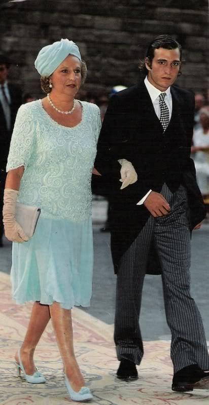 Infanta pilar and eldest son juan filiberto g mez acebo y de borb n spanish royalty - Casa luis pozuelo ...