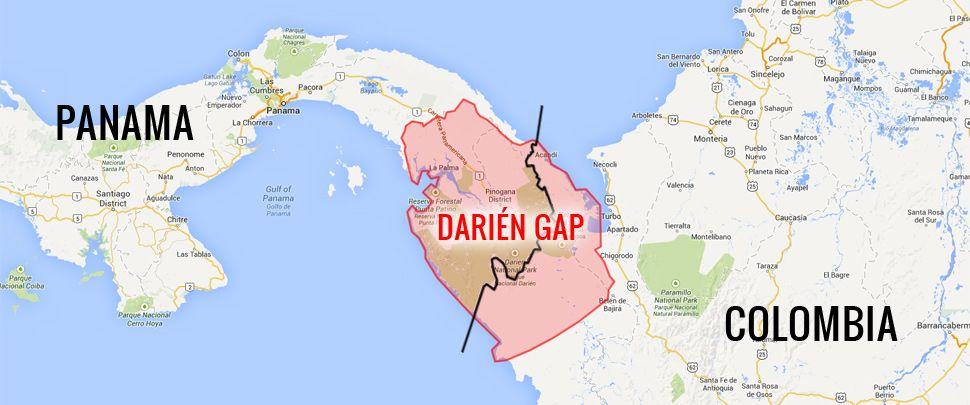 Closing the Darién Gap | Motor\'s Master | Darien gap, Pan american ...