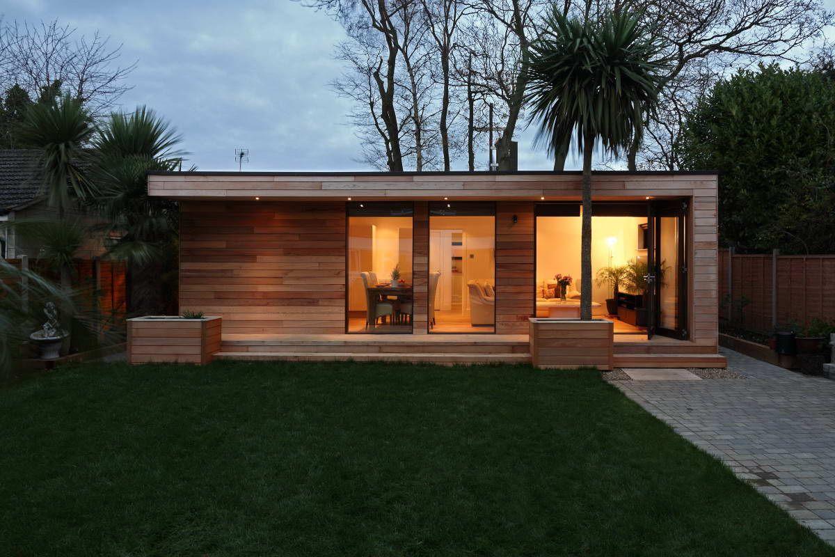 Maison bois en u recherche google wood house for Recherche maison en bois