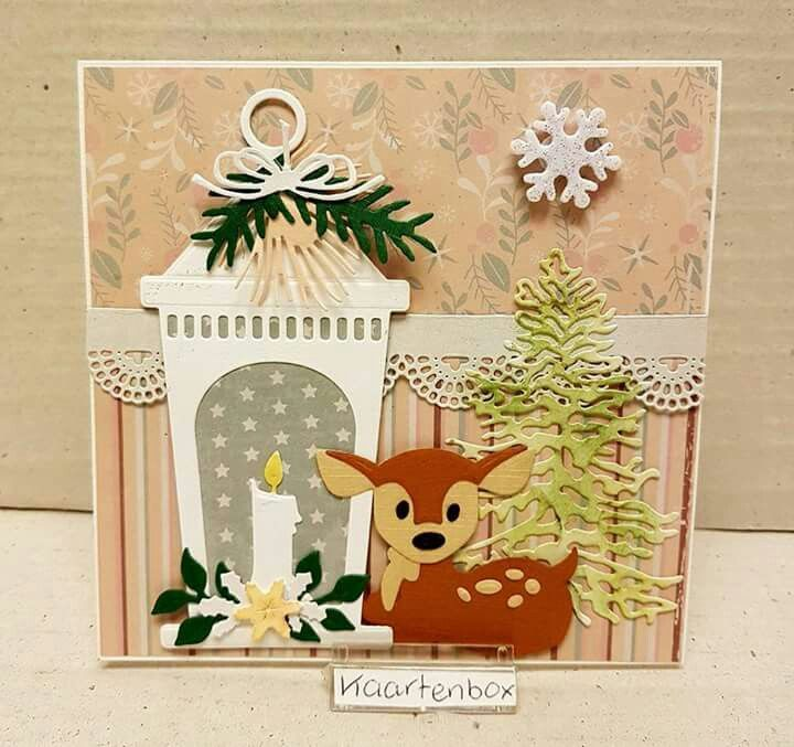 Come Fare Biglietti Di Natale Per Bambini.Pin Di Barbara Cintolesi Su Marianne Design Pinterest Natale